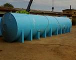 Накопительная бочка 30 м3 для питьевой воды